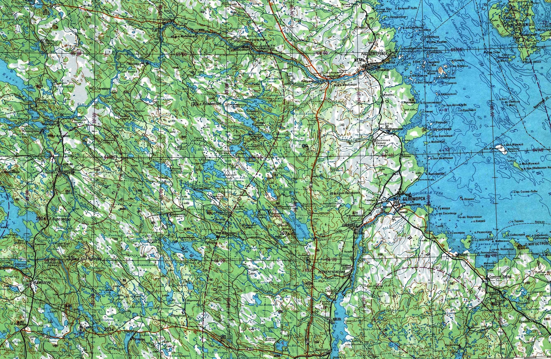Топографические Карты Генштаба 500 Метровки