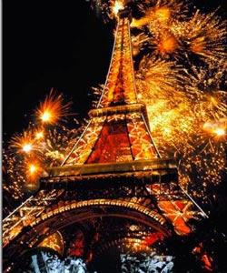 "Вышивка крестом.  Схемы автора  ""inna_ya "". inna_ya.  151x190 крестов * 67 цветов * Теги: париж, франция."